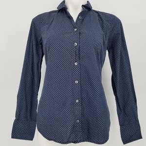 J. Crew Cotton Button Up Blouse Size 4